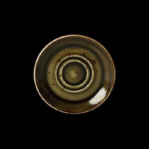 Kaffee-Untere, Ø = 14,5 cm, Craft, braun