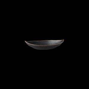 Blattschale, Länge: 25,5 cm, Marone