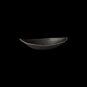 Blattschale, Länge: 36 cm, Marone