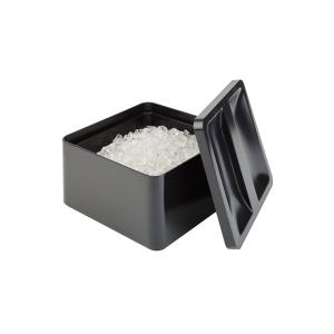 Eisbox, schwarz