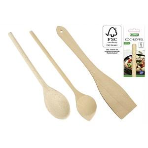 Holz-Pfannenwender, 30 cm