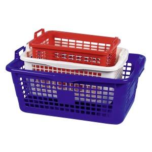 Wäschekorb eckig, Inhalt: 85 l