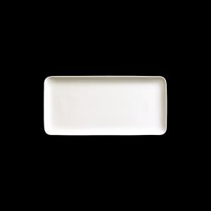 Platte rechteckig, Länge: 32 cm, Fine Bone China Pure, weiß