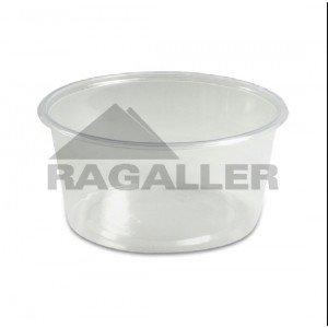 Verpackungsbecher rund, klar, Inhalt: 0,25 l