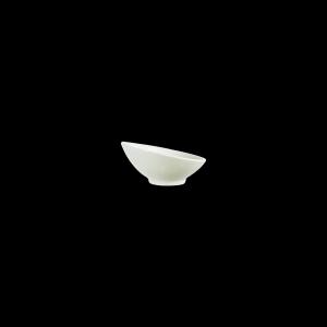 Schale niedrig, Appetizer Uni cremeweiß, Inhalt: 150 ml