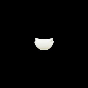 Quadratschale, Länge: 8,8 cm, Appetizer Uni cremeweiß