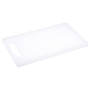 Schneidbrett rechteckig, Länge: 25 cm, weiß