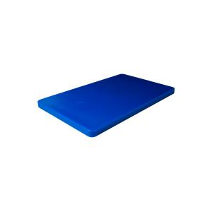 Schneidbrett GN 1/1, HACCP, blau