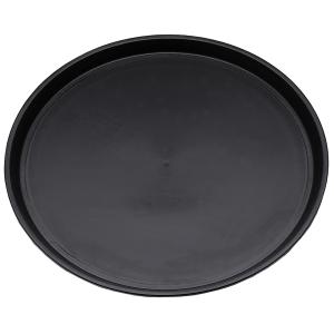 Bierglasträger / Serviertablett, Ø = 36 cm, schwarz