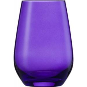 Wasserglas, Vina Spots, Inhalt: 397 ml, purple