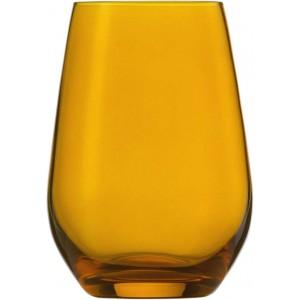 Wasserglas, Vina Spots, Inhalt: 397 ml, bernstein