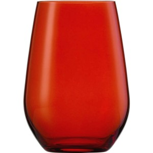 Wasserglas, Vina Spots, Inhalt: 397 ml, rot