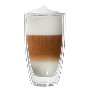 Latte Macchiato-Glas, doppelwandig