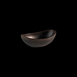Schale, Marone, Inhalt: 0,25 l, schwarz