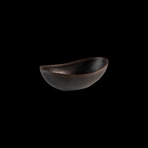 Schale, Marone, Inhalt: 0,6 l, schwarz