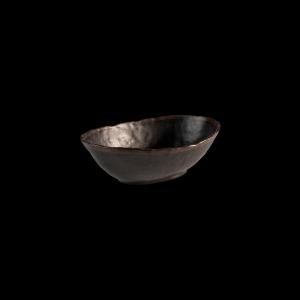 Schale, Marone, Inhalt: 1,4 l, schwarz