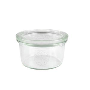 Sturzglas, mit Glasdeckel, Inhalt: 165 ml
