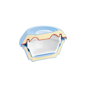 Isolier-Unterteil für Suppenschalen mit Inhalt: 0,43 l