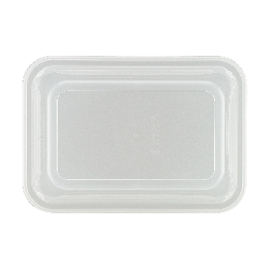 Kunststoffdeckel, rechteckig, hoch, Länge: 16,8 cm