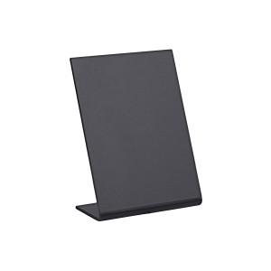 Tischaufsteller, Kreidetafel L-Form DIN A8