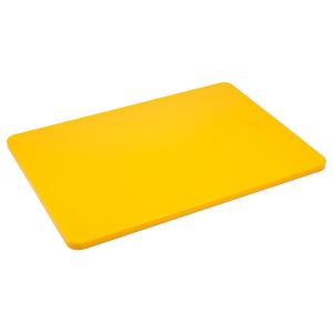 Schneidbrett, Länge: 35 cm, gelb