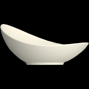 Schale asymmetrisch, Länge: 17 cm, Purity