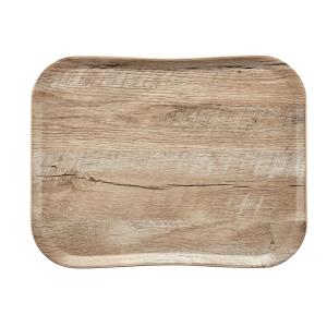 Tablett Woodgrain, Länge: 43 cm