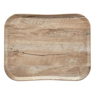 Tablett Woodgrain, Länge: 46 cm