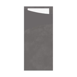 Serviettentasche Saccetto, granite