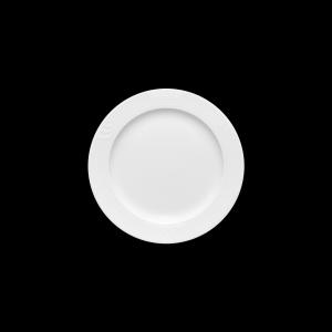 Teller flach mit Fahne, Ø = 23 cm, Carat