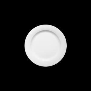 Teller flach mit Fahne, Ø = 23 cm, Dialog