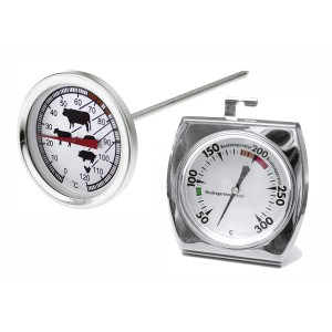 Bratenthermometer Edelstahl