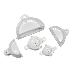 Pastamaker / Teigtaschenformer-Set, 5-teilig