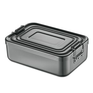 Lunch Box/Brotdose Aluminium 18x12x5cm