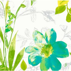 Serviette, Dunisoft, Summertime Blue, 40 x 40 cm