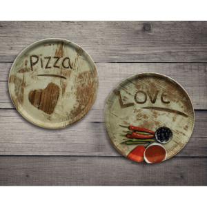 Pizzateller, Ø = 33 cm, Napoli Flour Z31