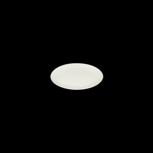 Teller flach mit Fahen, Ø = 21 cm, Delight creme