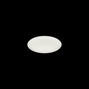 Teller flach coup mit Fahne, Ø = 24 cm, Delight creme