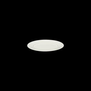 Platte oval, Fahne, 24 cm, Delight creme