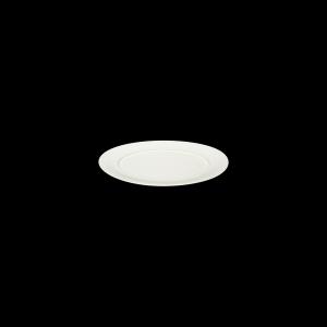 Platte oval, Fahne, 34 cm, Delight creme