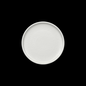 Teller flach, Ø = 21 cm, Struktur, Shiro