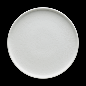 Teller flach, Ø = 28 cm, Struktur, Shiro