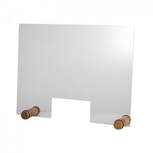 Hygiene-/ Spuckschutz, Maße: 75 x 57 cm