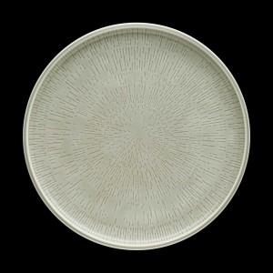 Teller flach, coup, Ø = 28 cm, Shiro Glaze Steam