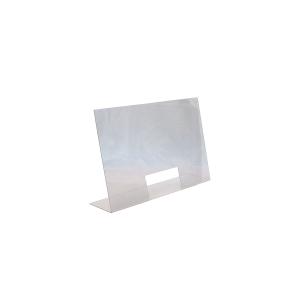 Hygiene-/ Spuckschutz, Maße: 75 x 18 x 48 cm