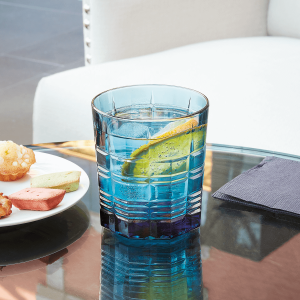 Becherglas, Brixon, Inhalt: 300 ml, blau