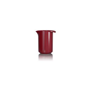 Rührbecher Margrethe, Inhalt: 0,5 l, rot