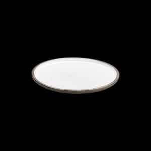 Teller flach, Ø = 22 cm, ReNew, weiß