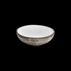 Bowl, Ø = 17 cm, ReNew, Relief, weiß