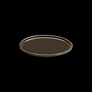 Teller flach, Ø = 22 cm, ReNew, taupe